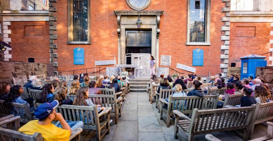 Iris Theatre at St Paul's Church. Image credit Nick Rutter