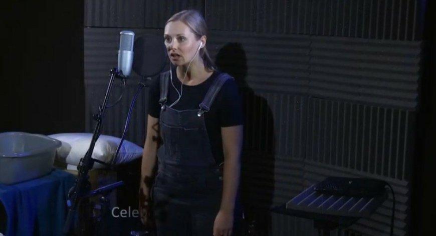 Sophia Hatfield performing The Telephone