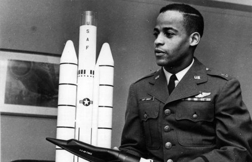 Ed Dwight, first African-American in space