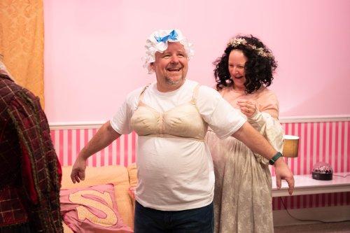 David Nellist and Joanne Seymour