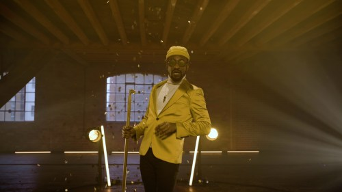 Newtion Matthews in BKLYN The Musical