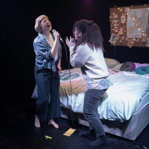 Eloise Davies and Courtney Stapleton