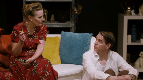 Martina McCormack and Eoin O'Sullivan in Pheromone