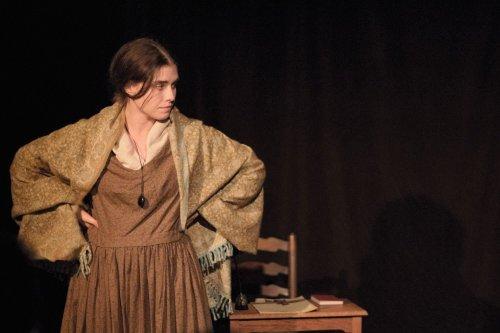 Harriet Hutchinson as Emily in Unquiet Slumbers
