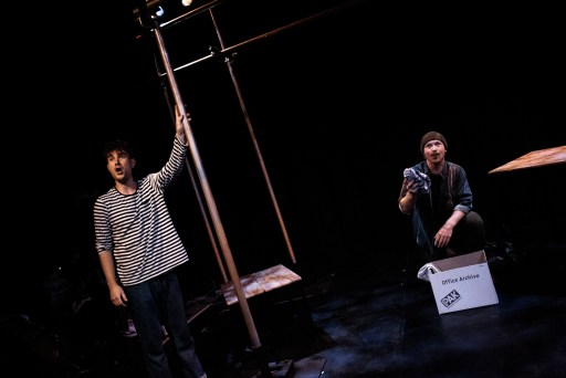 Aidan Harkins and Andrew Patrick Walker in From Here