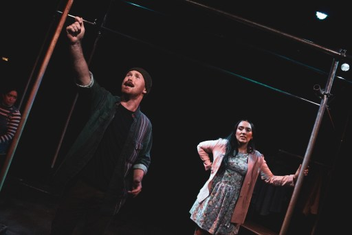 Andrew Patrick Walker and Grace Mouat in From Here