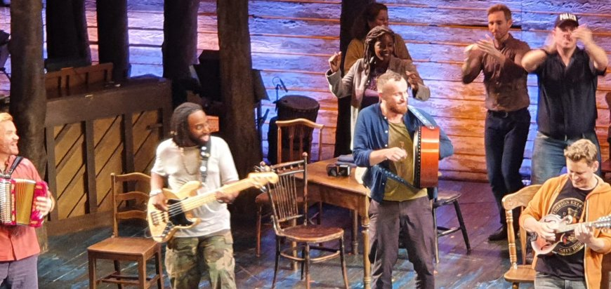 The band of Come From Away