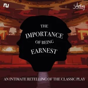 Promotional image for The Importance of Being Earnest