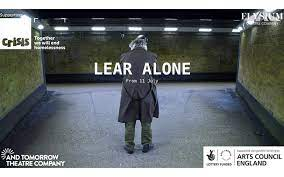 Promotional image for Lear Alone