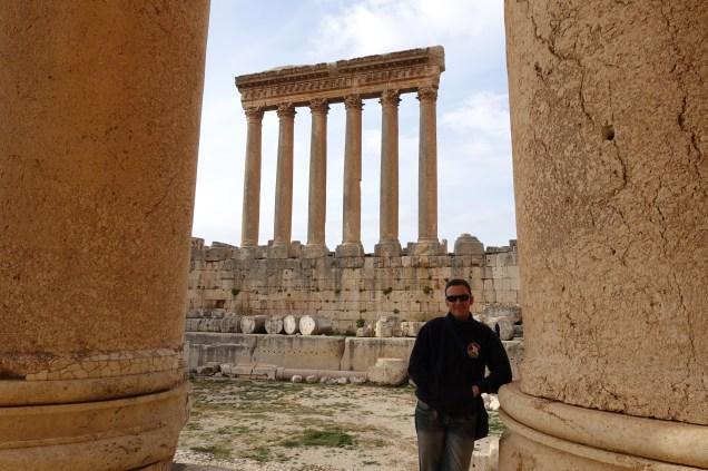 The Temple of Jupiter behind Dan