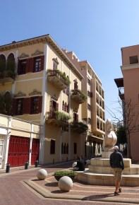 Swankier parts of town: Saifi Village
