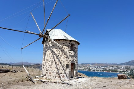One of the more intact windmills