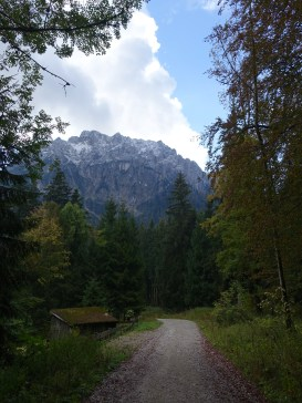Trail to Laudachsee