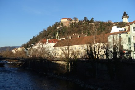 Schlossberg and the Mur River