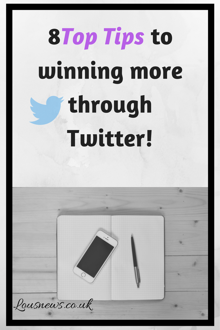 8 Top Tips to winning more through Twitter!