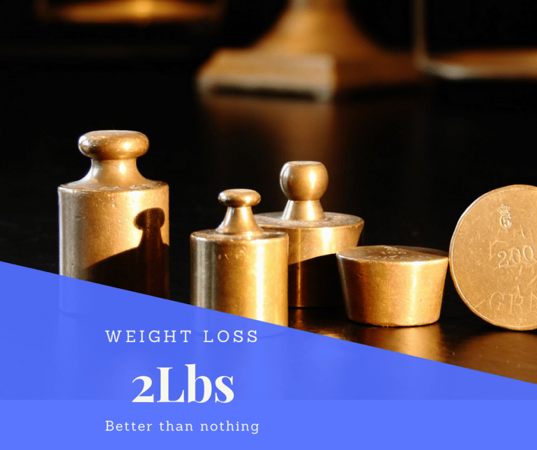 Weight loss 2lbs