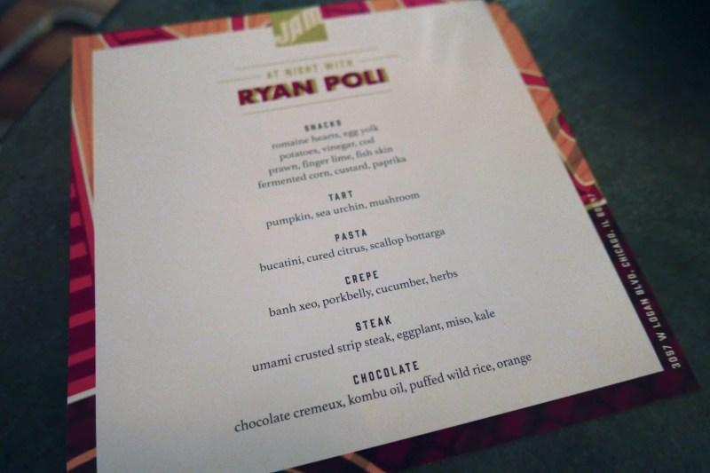 Jam At Night Pop Up with Ryan Poli