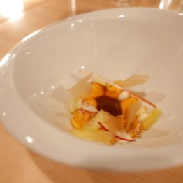 Mole with Sweet Potato and Fruit (Empellon)