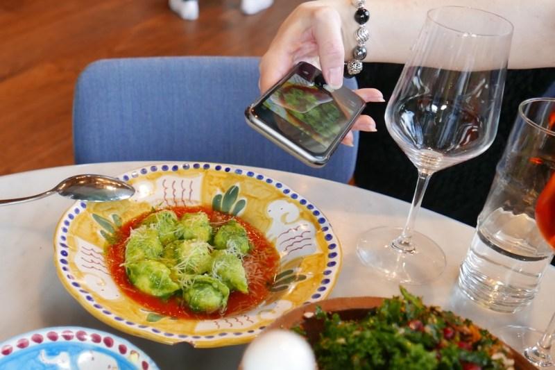 Tortellini Sorrentina - ricotta, pesto, marinara