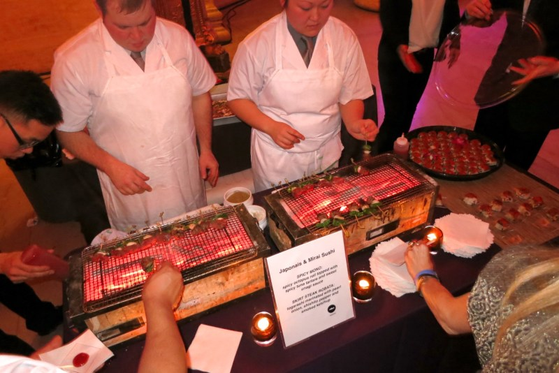 Spicy Mono and Skirt Steak Robata by Japonais and Mirai Sushi