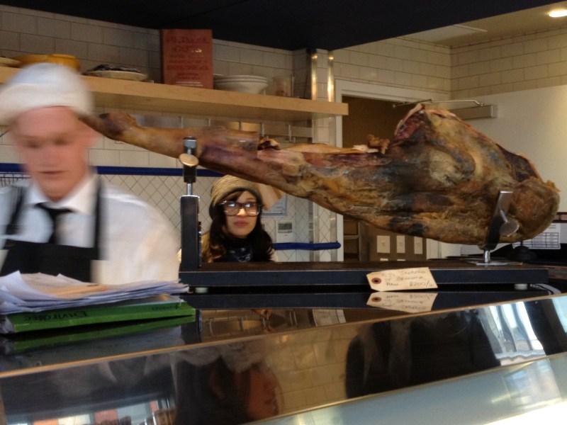 Iberico ham at PQM