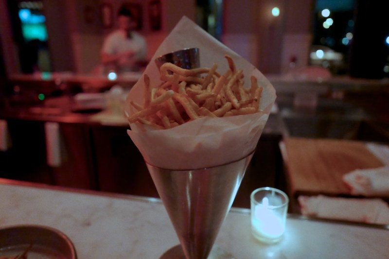 Pomme Frites with Garlic Aoili