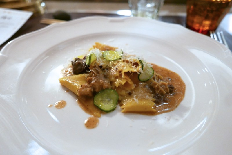 Parpadelle, Curry, Tripe [Momotaro]