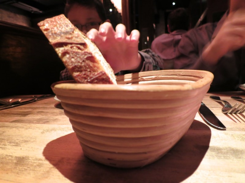 Bread at Bavette's Bar & Boeuf
