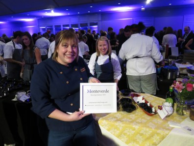 Sarah Grueneberg of Monteverde at Grand Chefs Gala
