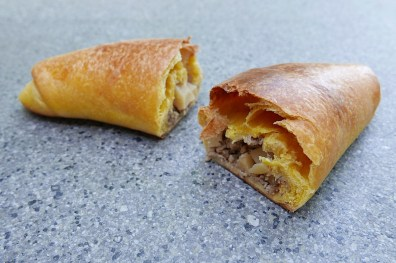 Pang Susi, ground pork, sweet potato dough
