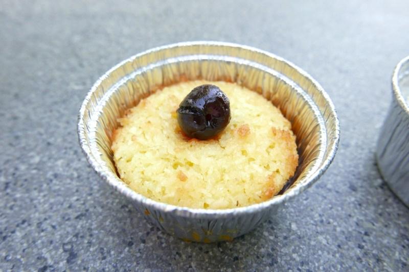 Coconut Tart, Pie Dough, Maraschino Cherry