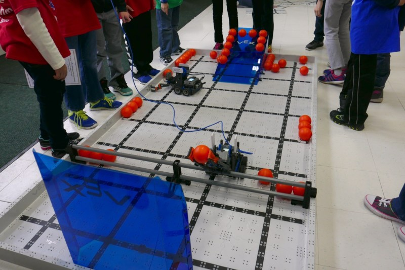 Robotics practice field