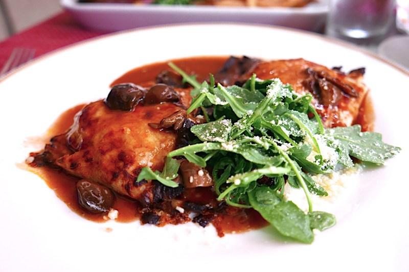 Savory Crepes Du Jour (Mushroom, Chicken)