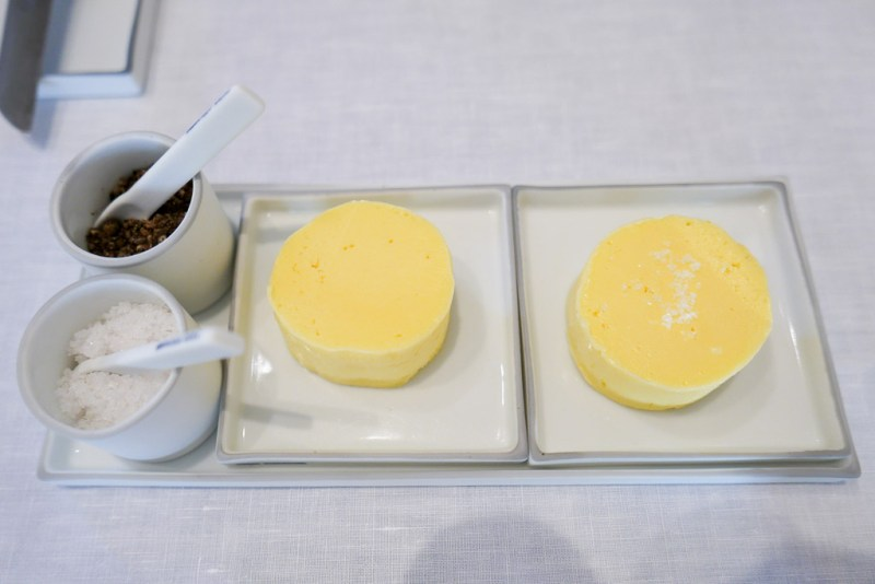 Cow and goat milk butter