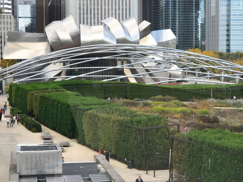 Millennium Park view from Terzo Piano