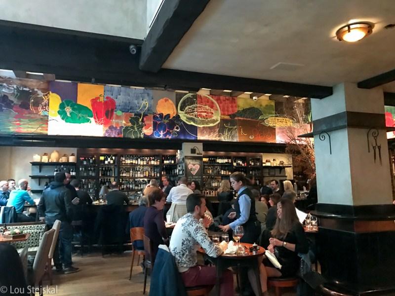 Bar area at Gramercy Tavern