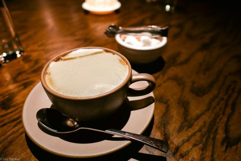 Cappuccino at Boka