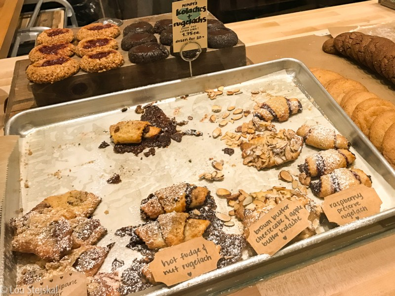 Thumbrpints, Kolachis, Rugelachs at Mindy's Hot Chocolate at Revival Food Hall