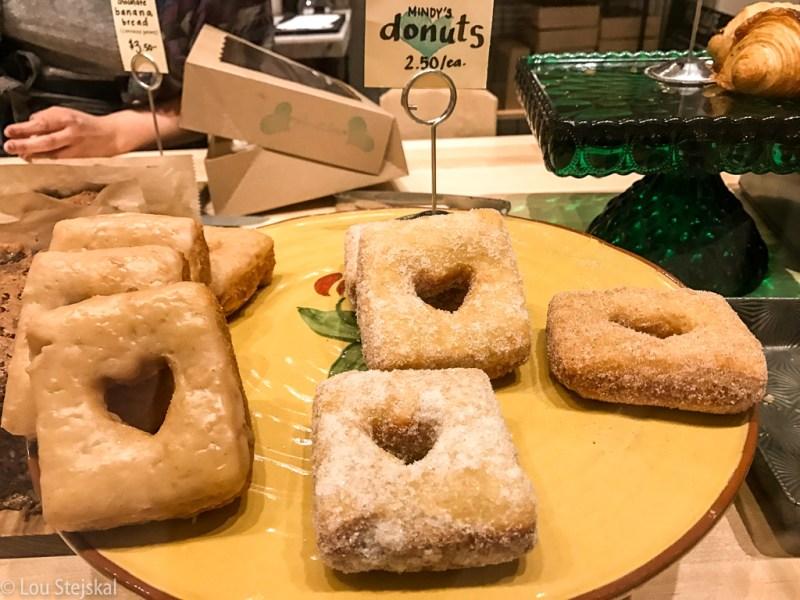 Donuts at Mindy's Hot Chocolate at Revival Food Hall