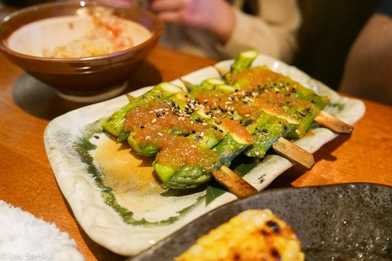 Asparagus, Wafu Dressing