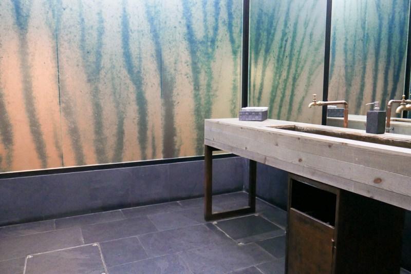 Restroom at Disfrutar