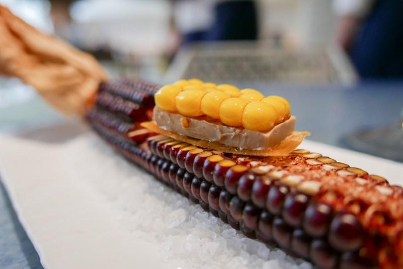 Corn Tart with Foie Gras