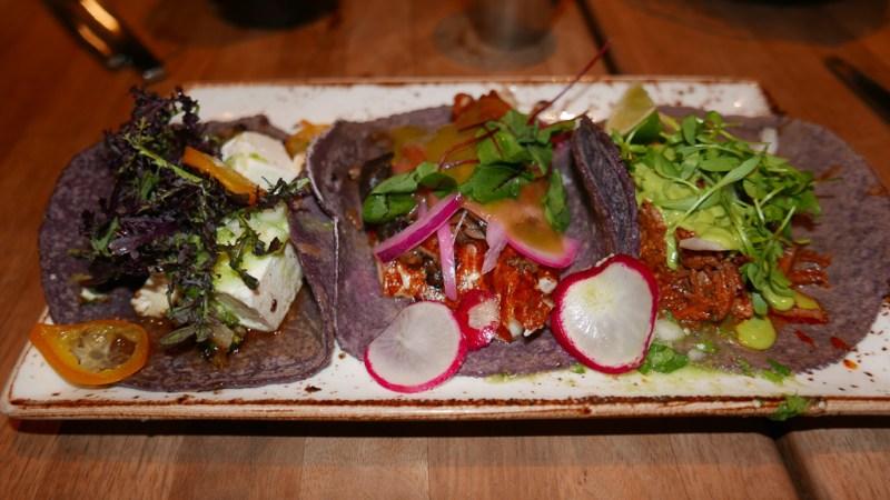 Taco of the Month, Mushroom, Lamb Barbacoa ($16)