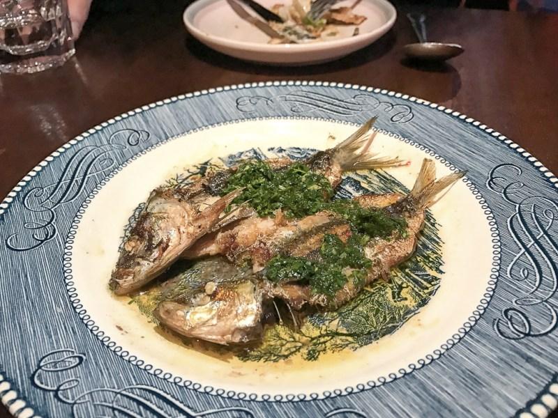 Fresh Sardines ($4)
