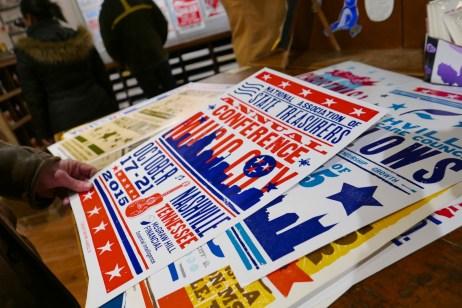 Posters at Hatch Show Print