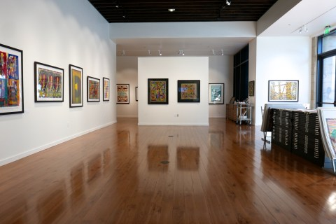 Jim Sherraden art exhibit
