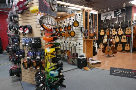 Great music shop that reminded me of Chicago Music Exchange
