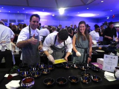 Lee Wolen of BOKA at Grand Chefs Gala