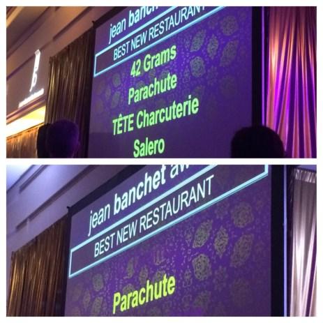 Best New Restaurant: Parachute