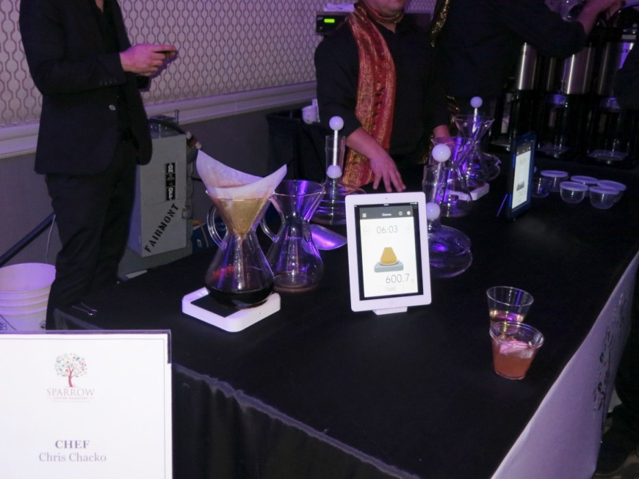 Sparrow Coffee at Grand Chefs Gala Nightcap